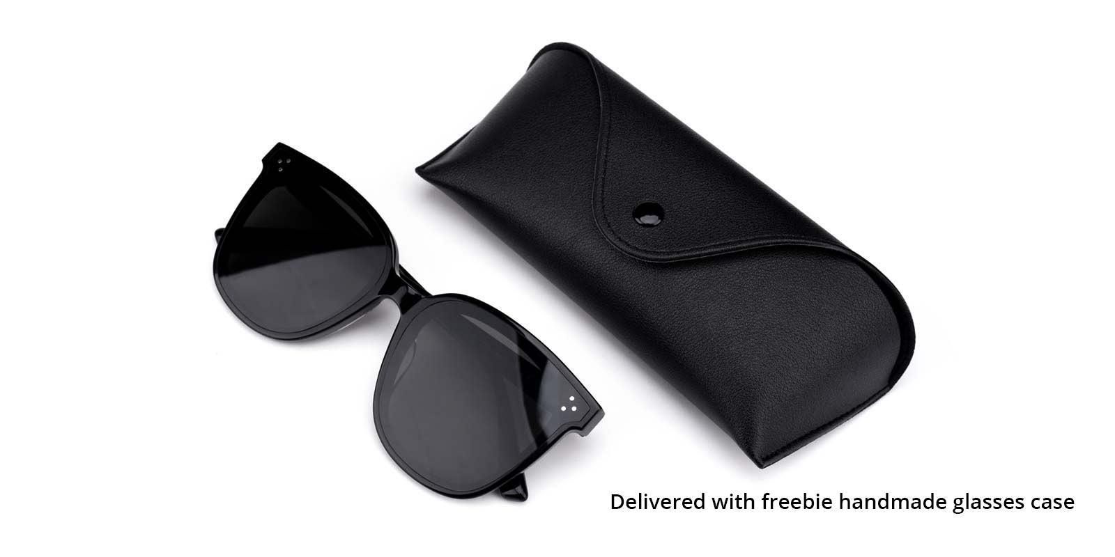 Superman-Black-Round-TR-Sunglasses-detail