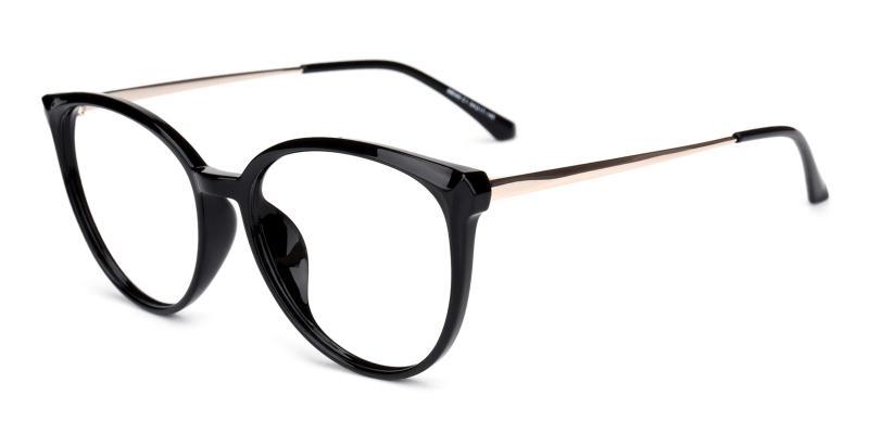 Glamour-Black-Eyeglasses