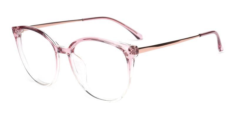 Glamour-Pink-Eyeglasses