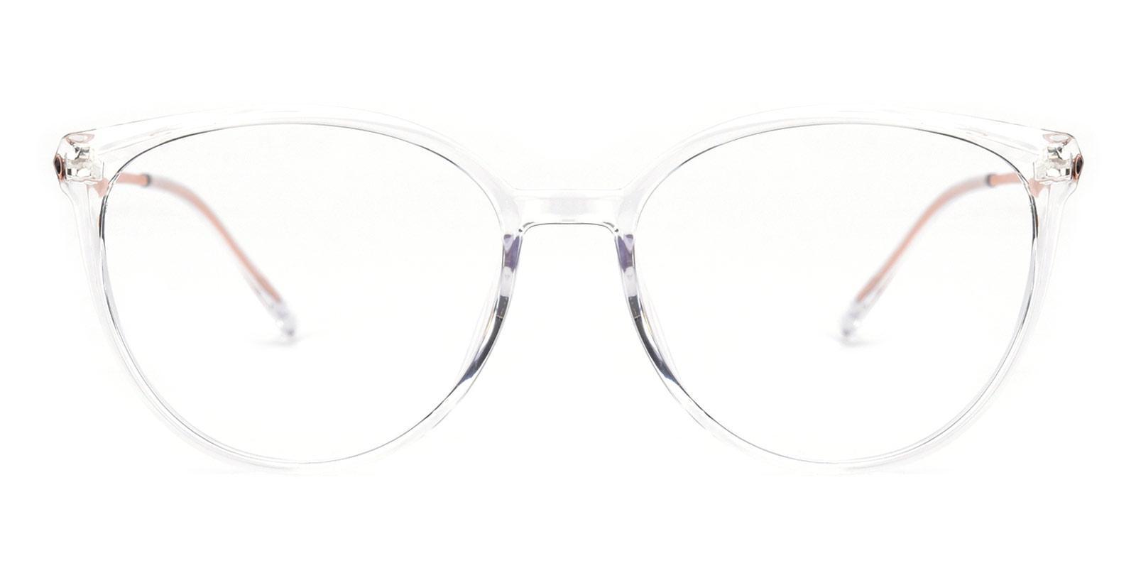 Glamour-Translucent-Cat / Round-TR-Eyeglasses-detail