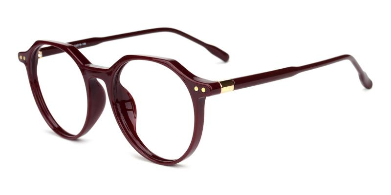 Cappuccino-Red-Eyeglasses