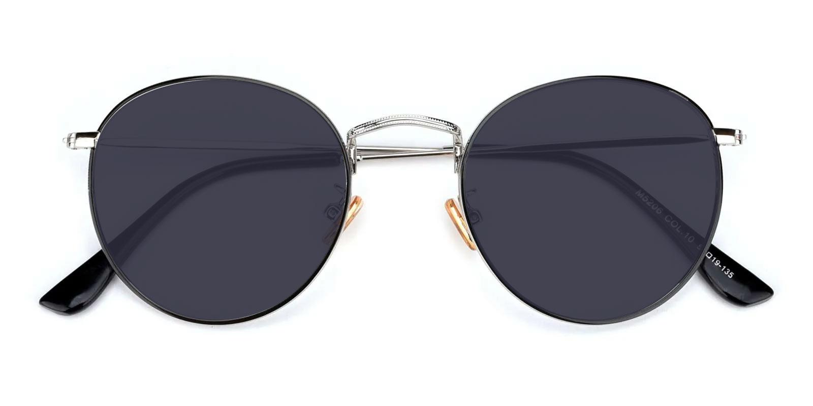 Canary-Silver-Round-Metal-Sunglasses-detail