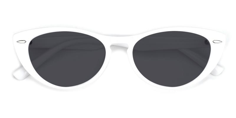 Kuku-White-Sunglasses