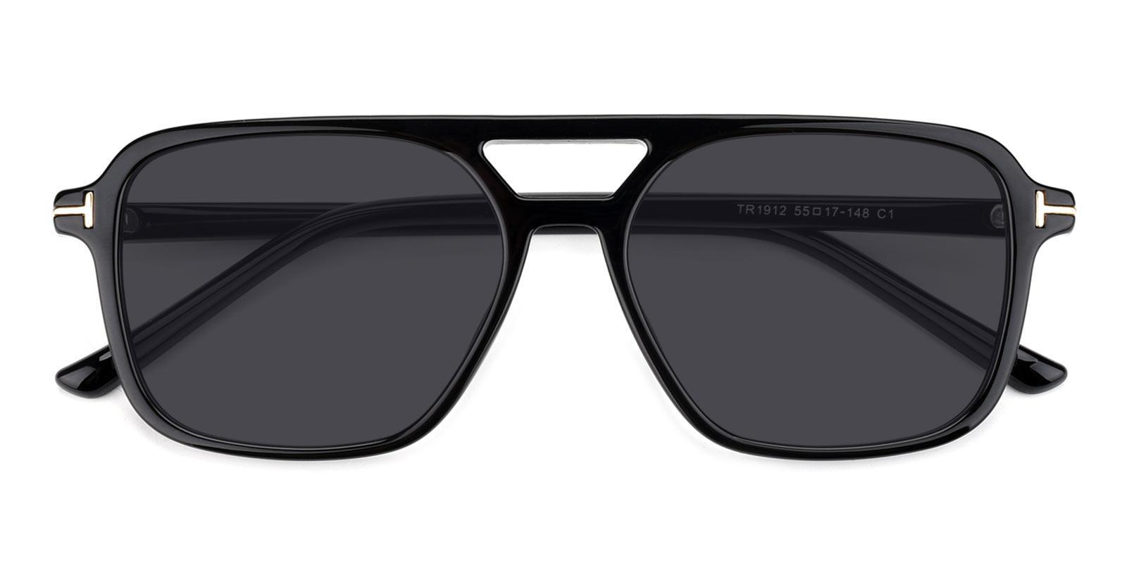 Galaxy-Black-Aviator-TR-Sunglasses-detail
