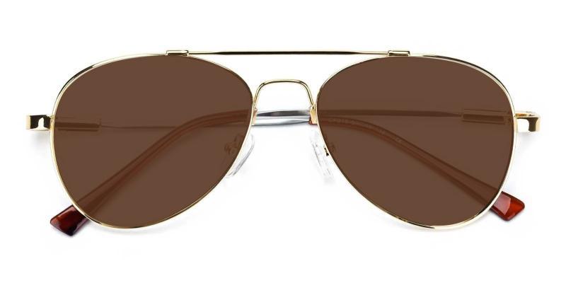 Louis-Gold-Sunglasses