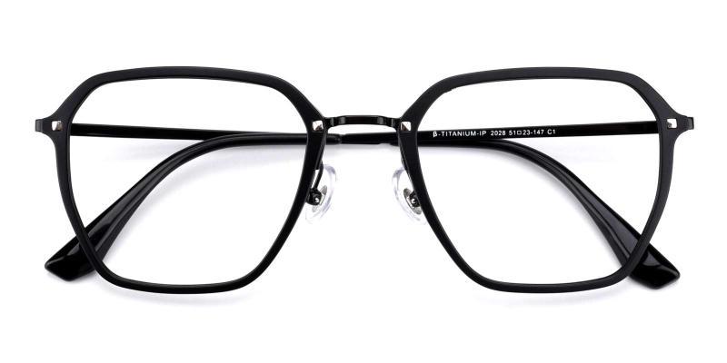 Navigator-Black-Eyeglasses