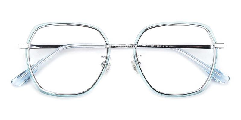 Leo-Blue-Eyeglasses