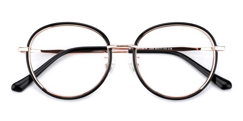 Soymilk-Black-Eyeglasses