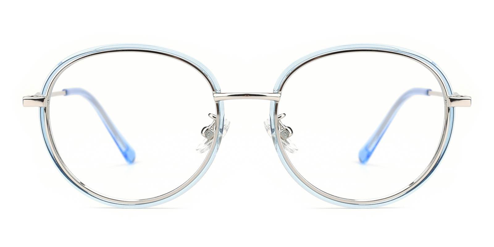 Soymilk-Blue-Round-Titanium-Eyeglasses-detail