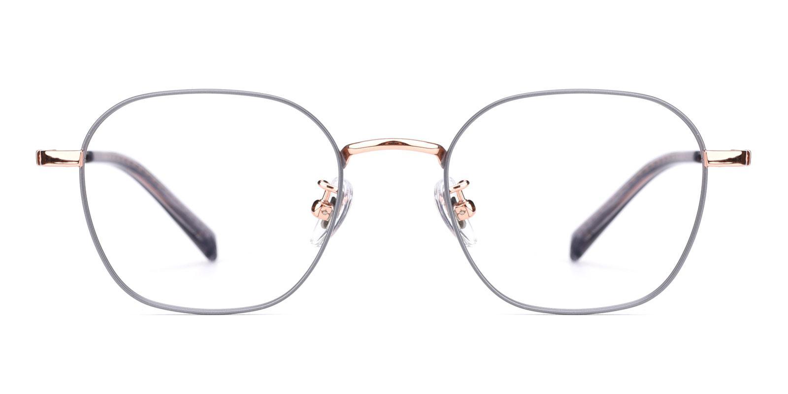 Fog-Gray-Rectangle-Titanium-Eyeglasses-detail