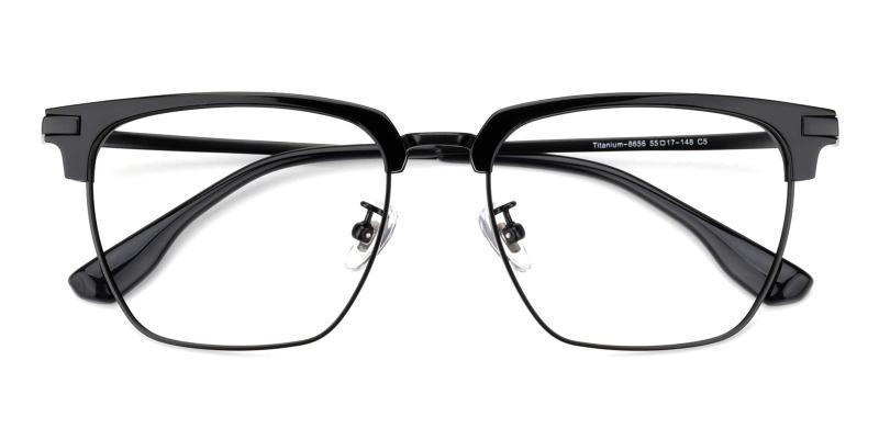 Signage-Black-Eyeglasses