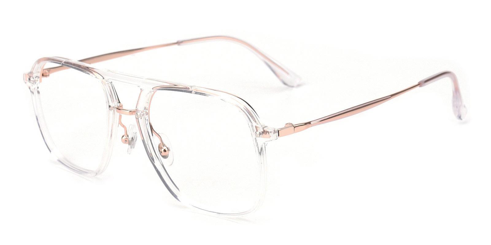 Molly-Translucent-Aviator / Square-TR-Eyeglasses-detail