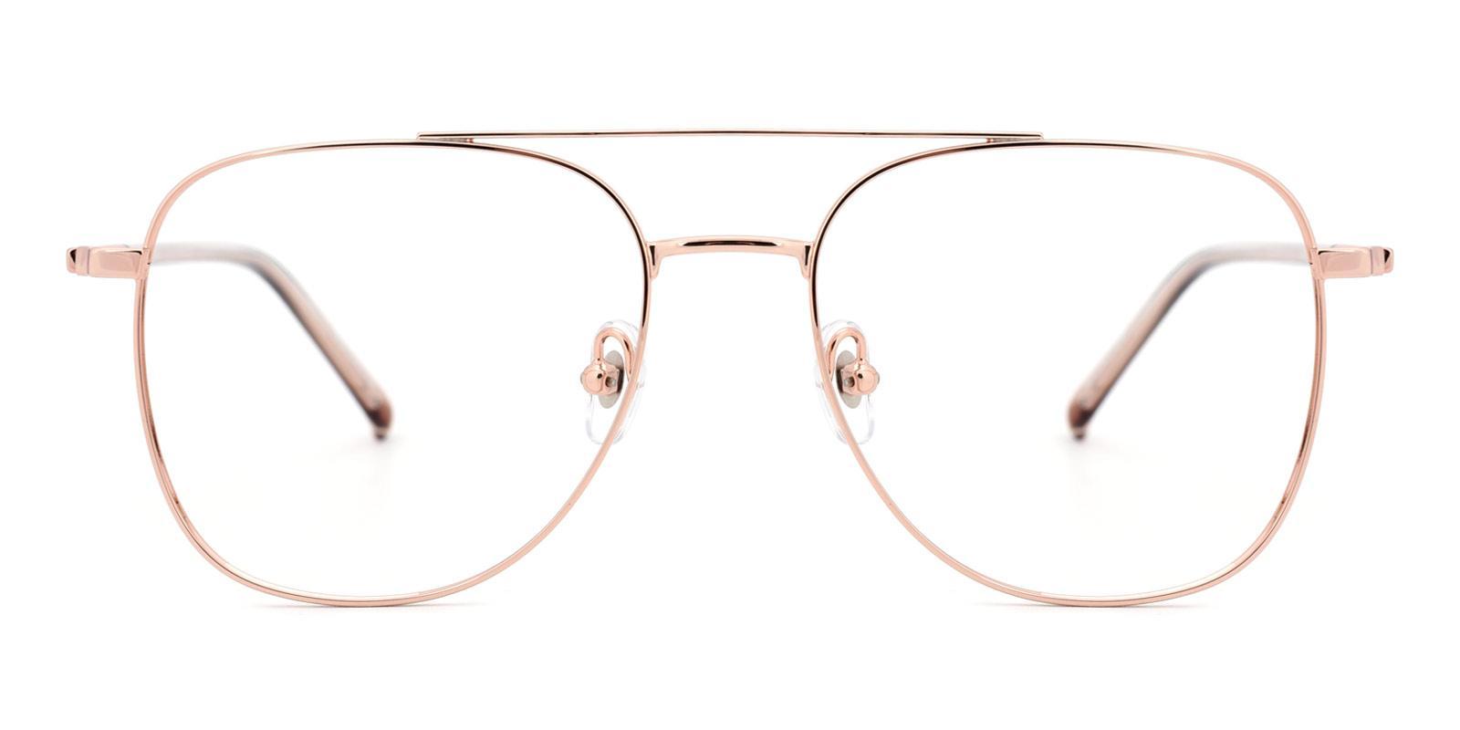 Defender-Gold-Aviator-Metal-Eyeglasses-detail