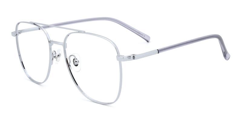 Defender-Silver-Eyeglasses