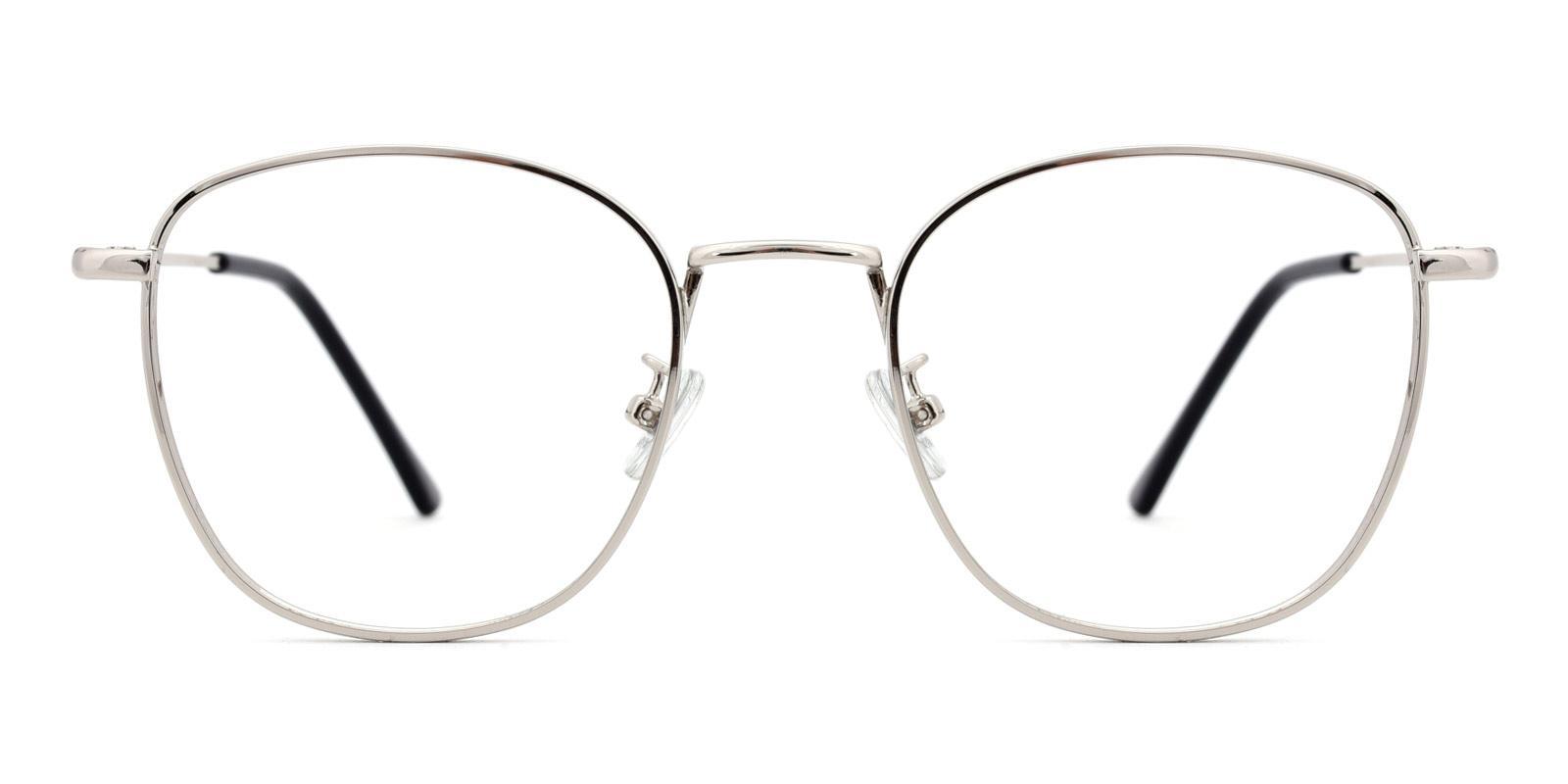 Richard-Silver-Square-Metal-Eyeglasses-detail