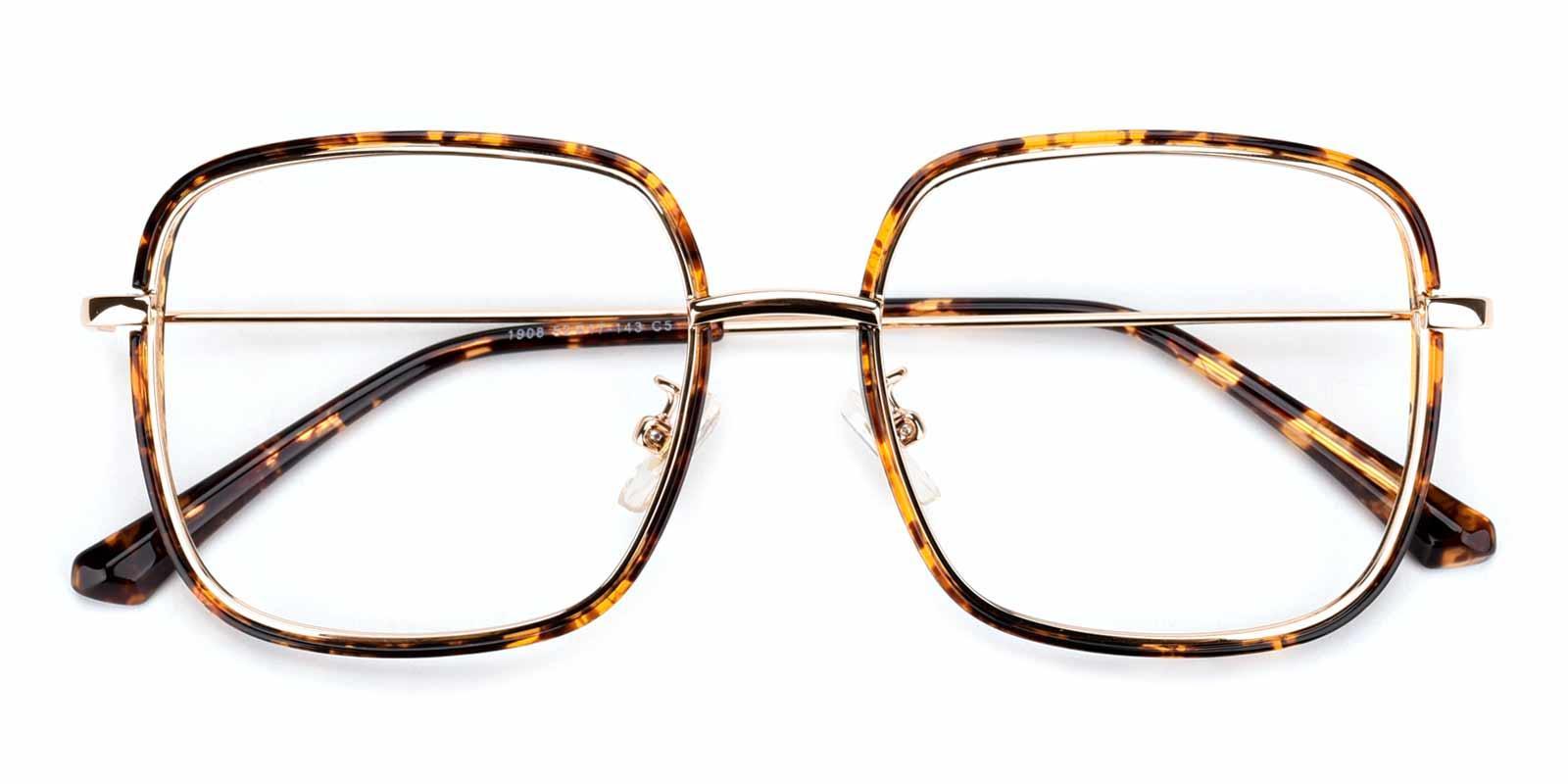 Soda-Tortoise-Square-TR-Eyeglasses-detail