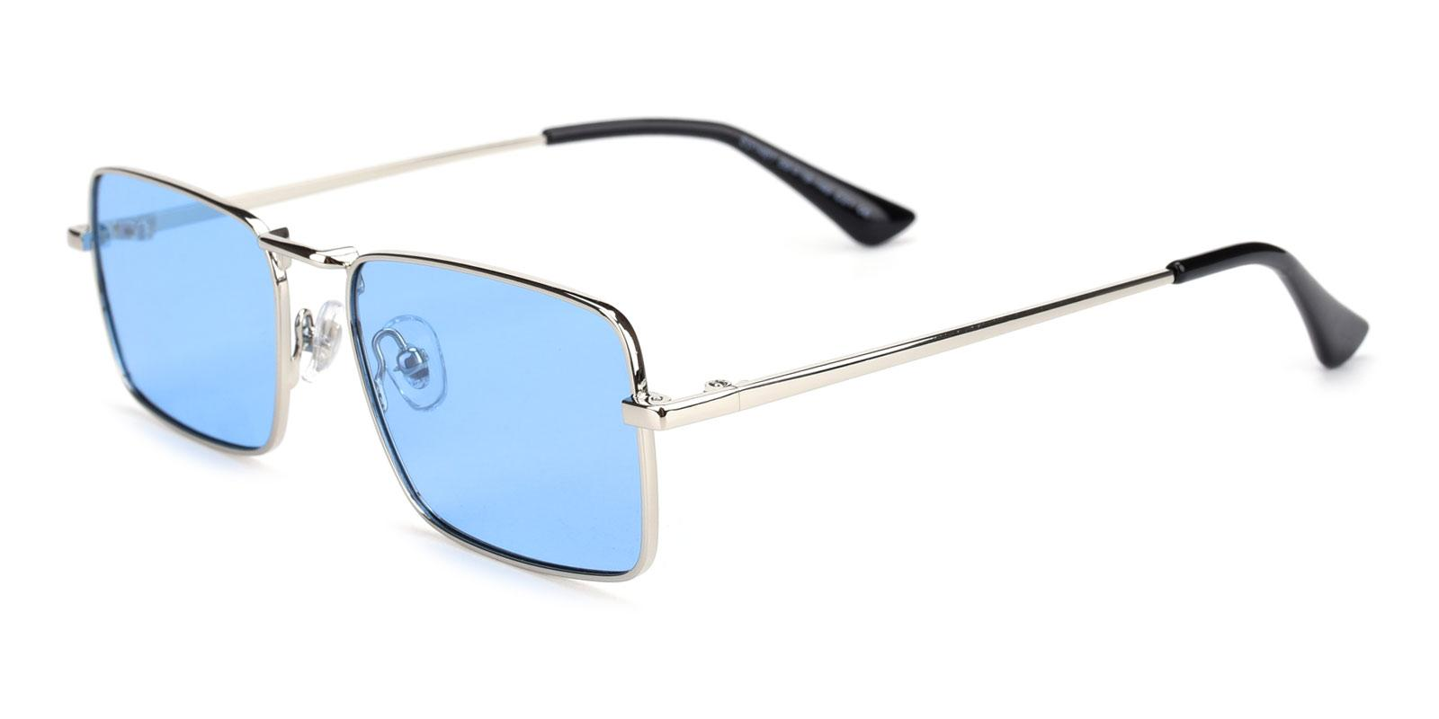 Phoebe-Blue-Rectangle-Metal-Sunglasses-detail