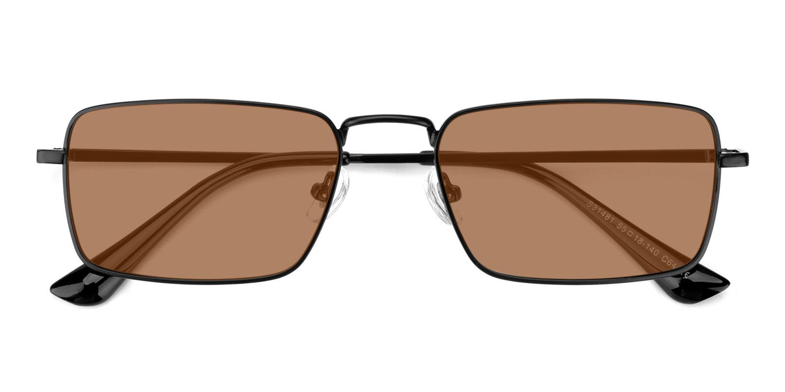 Phoebe-Brown-Rectangle-Metal-Sunglasses-detail