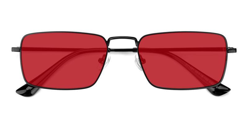 Phoebe-Red-Sunglasses