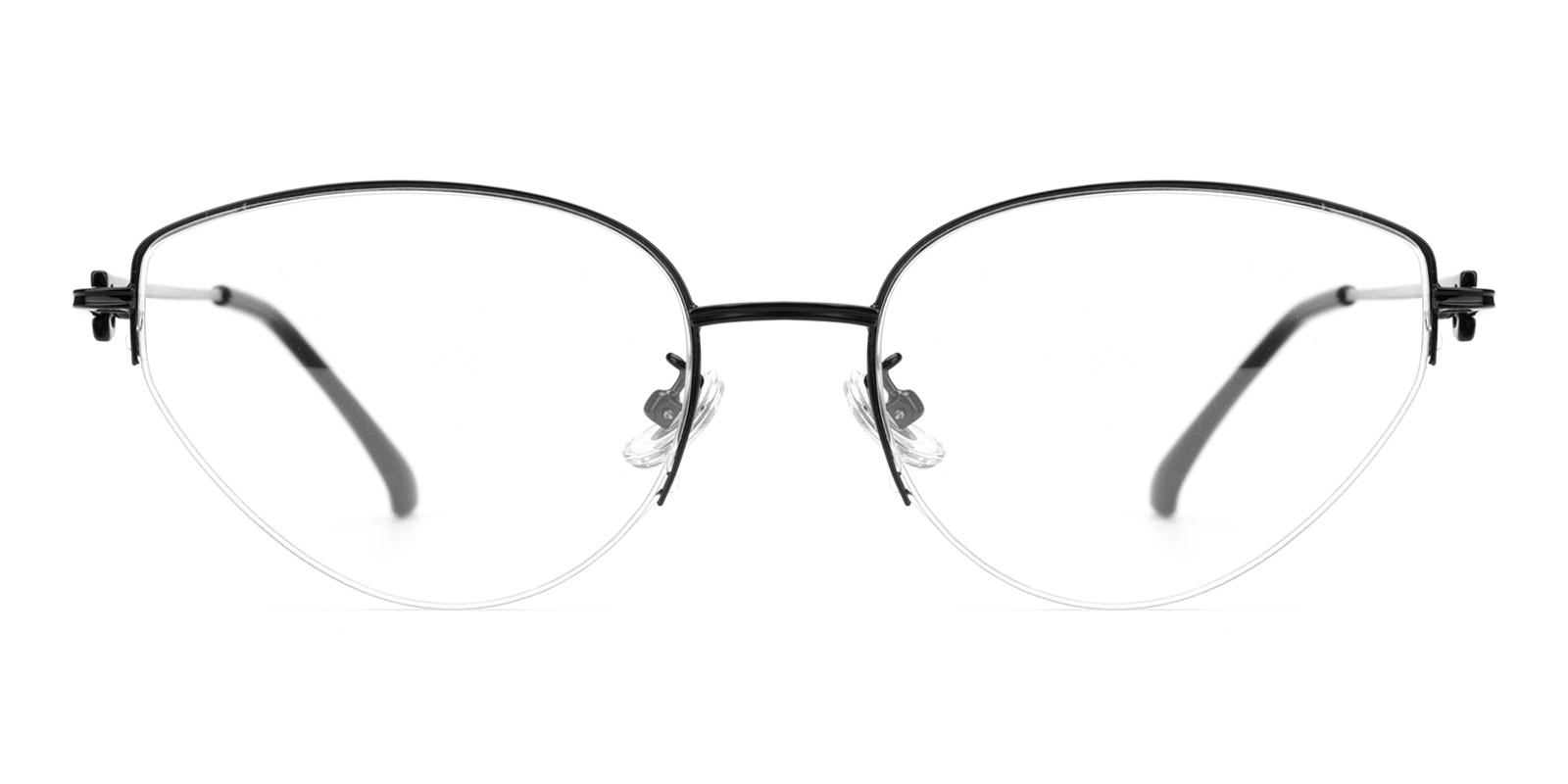 Zero-Black-Cat-Metal-Eyeglasses-detail