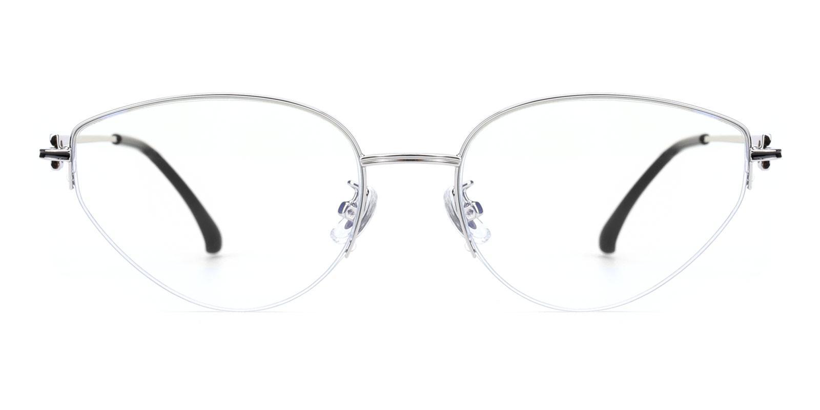 Zero-Silver-Cat-Metal-Eyeglasses-detail