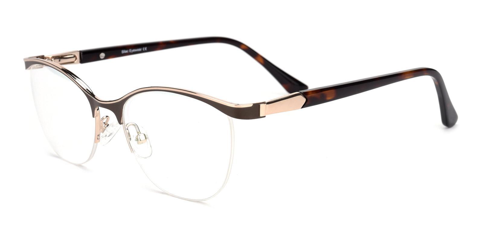 Alexis-Brown-Cat-Metal-Eyeglasses-detail