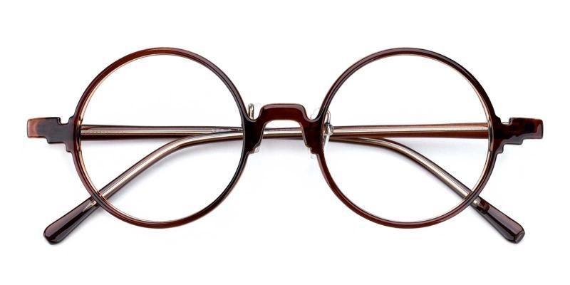 Olive-Brown-Eyeglasses