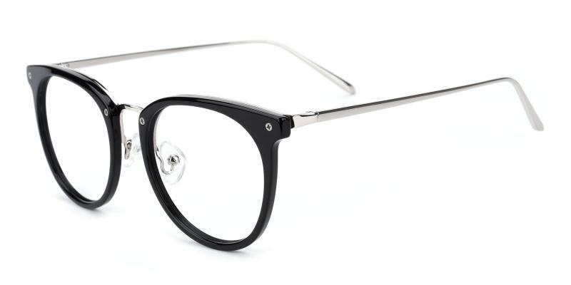 Nina-Black-Eyeglasses