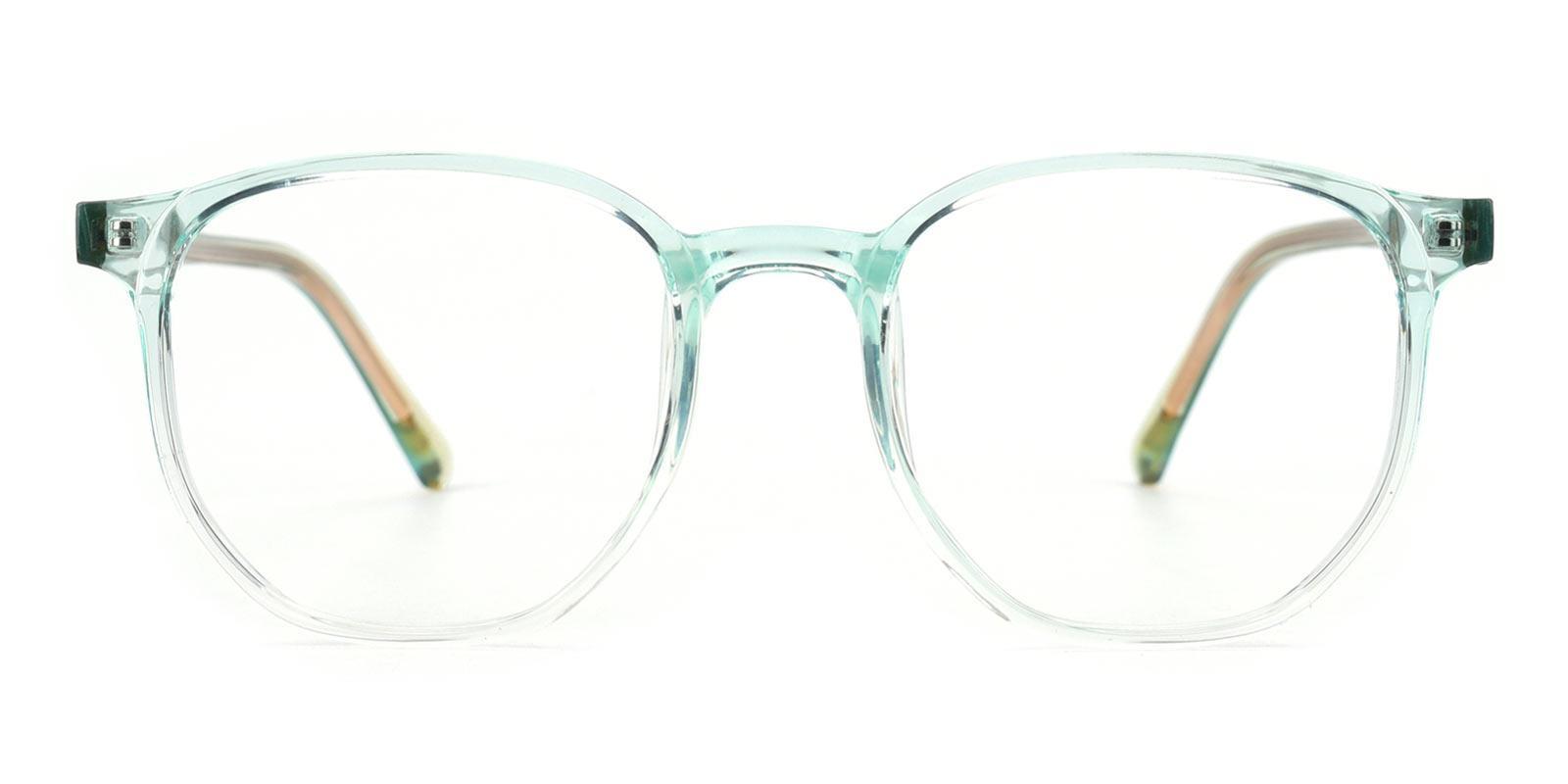 Bubblegum-Green-Rectangle / Round-TR-Eyeglasses-detail