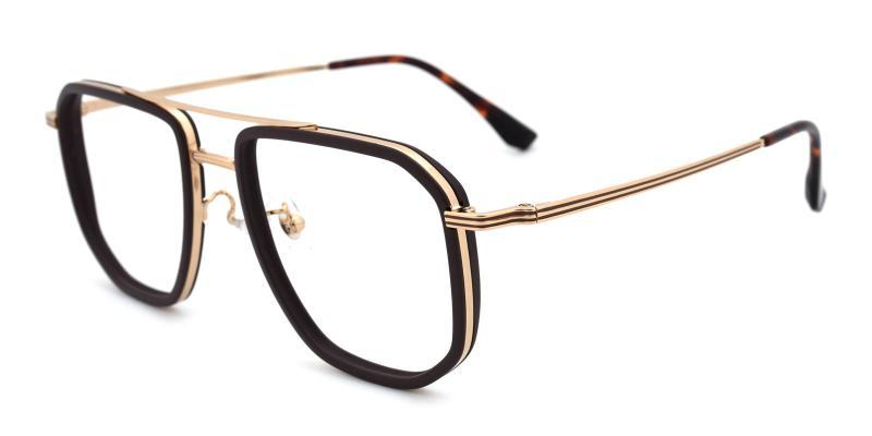Titan-Brown-Eyeglasses