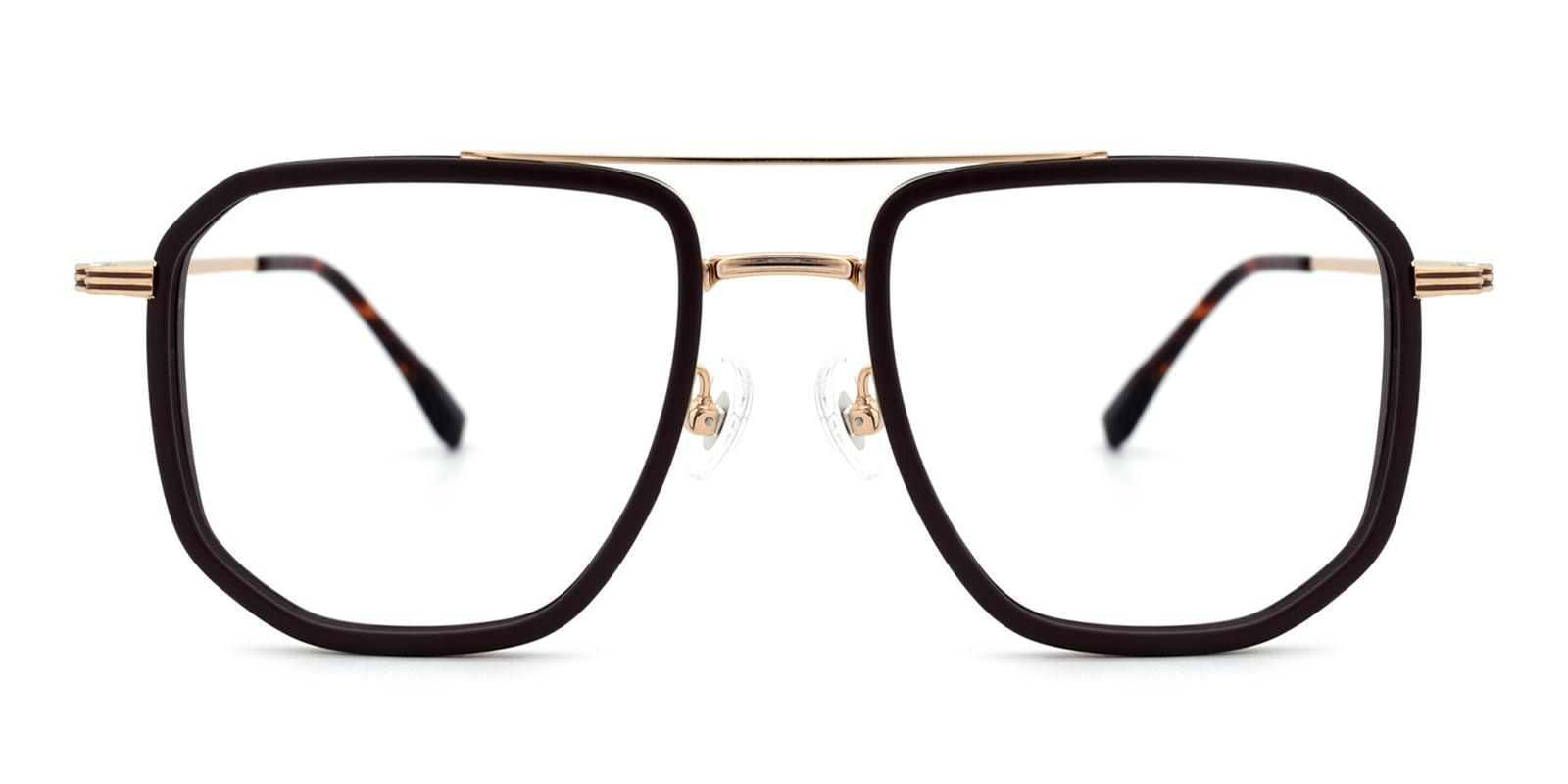 Titan-Brown-Aviator / Square-TR-Eyeglasses-detail