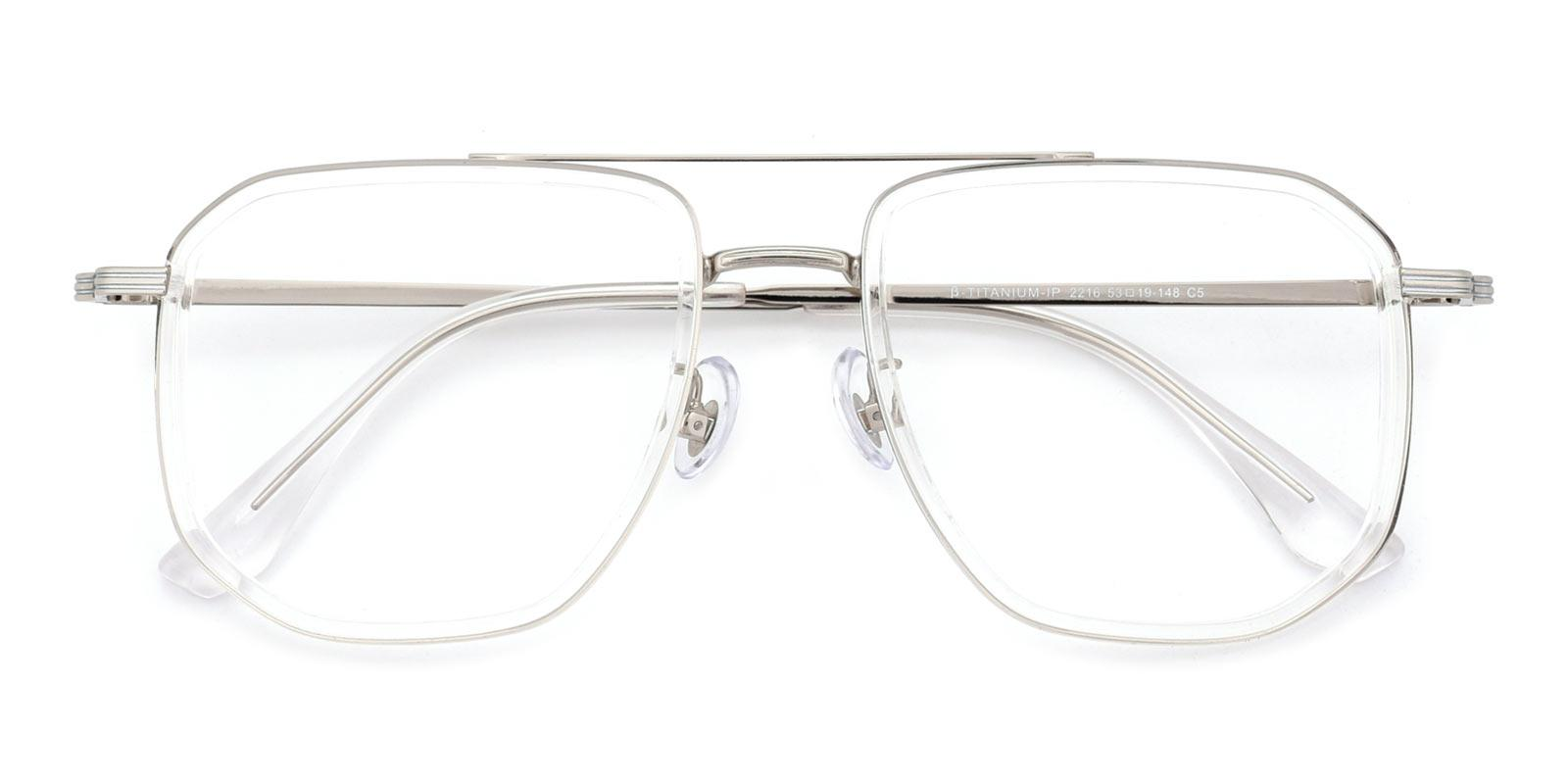 Titan-Translucent-Aviator / Square-TR-Eyeglasses-detail