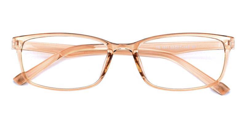 Ellis-Orange-Eyeglasses
