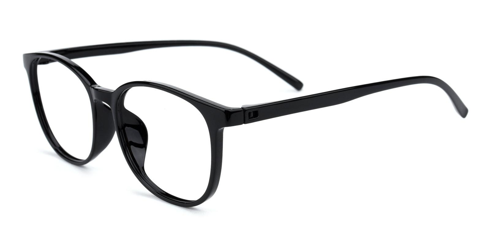 Geoff-Black-Rectangle / Round-TR-Eyeglasses-detail