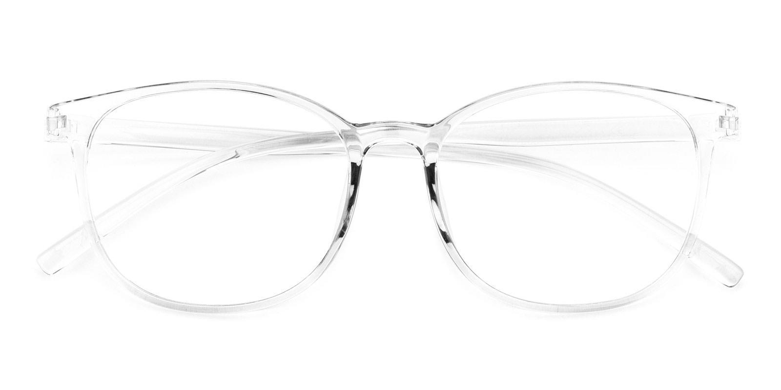 Geoff-Translucent-Rectangle / Round-TR-Eyeglasses-detail