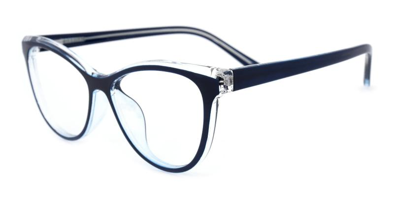 Diana-Blue-Eyeglasses