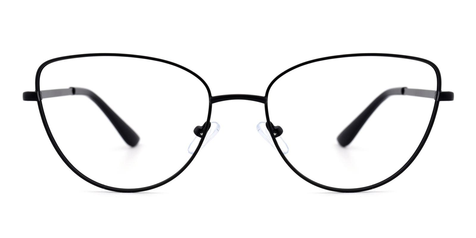 Lola-Black-Cat-Metal-Eyeglasses-detail