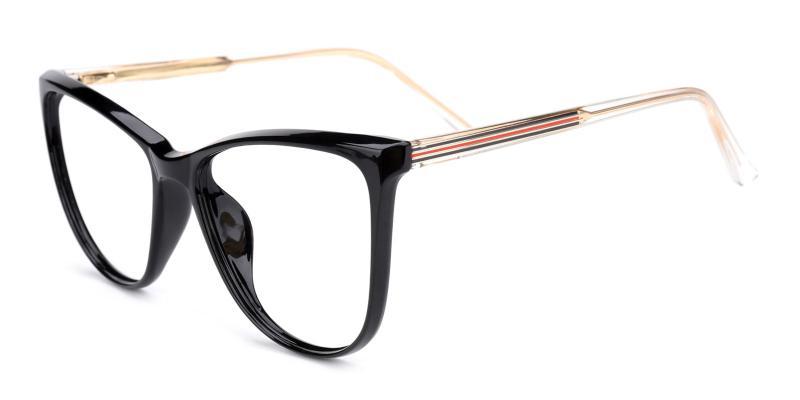 Lena-Black-Eyeglasses