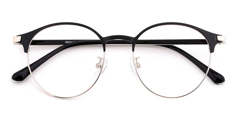 Bart-Black-Eyeglasses