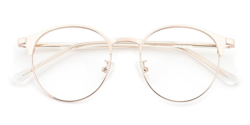 Bart-Gold-Eyeglasses