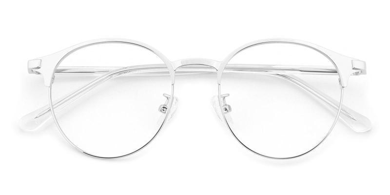 Bart-Silver-Eyeglasses