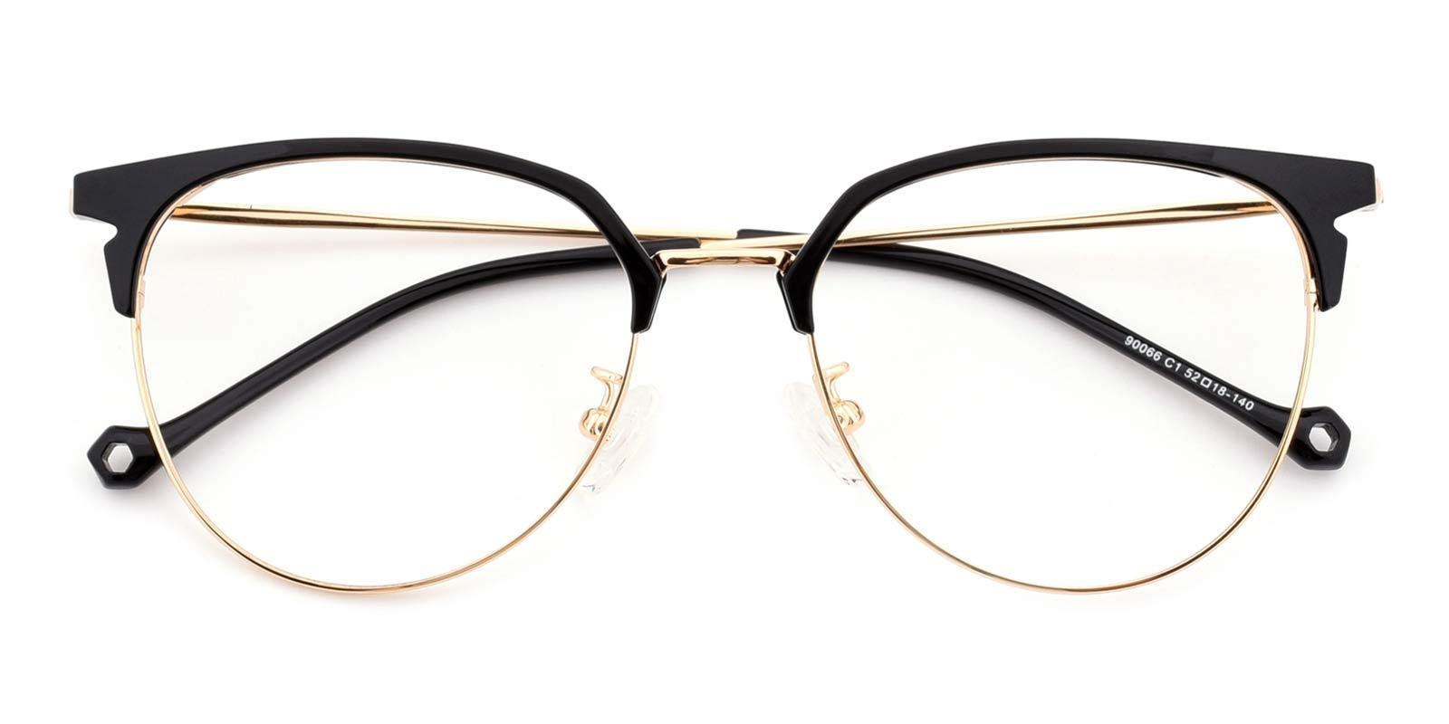 Dora-Black-Browline-TR-Eyeglasses-detail