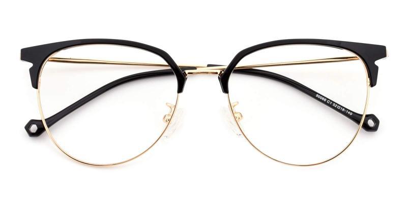 Dora-Black-Eyeglasses