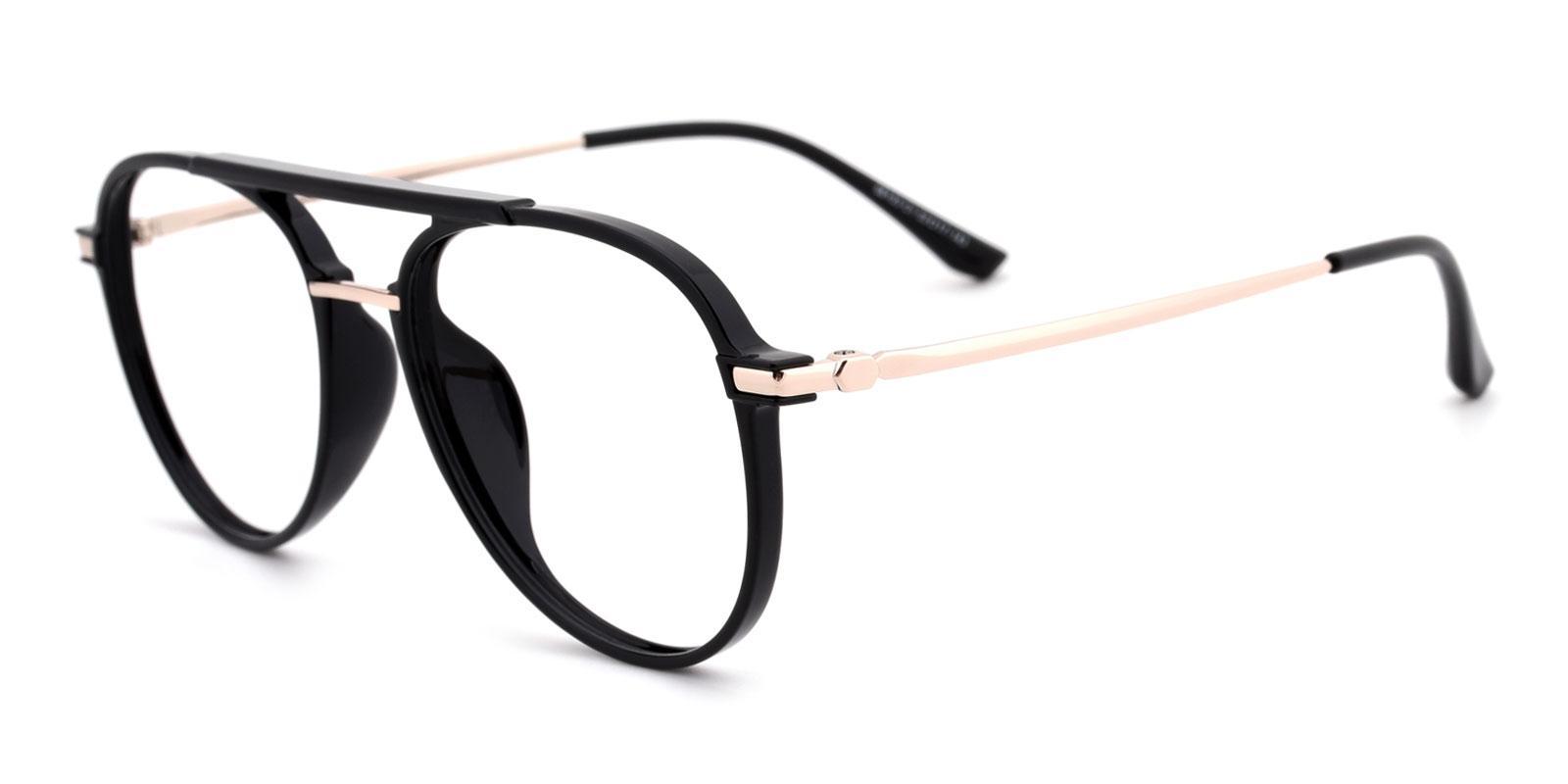 Michelle-Black-Aviator-TR-Eyeglasses-detail