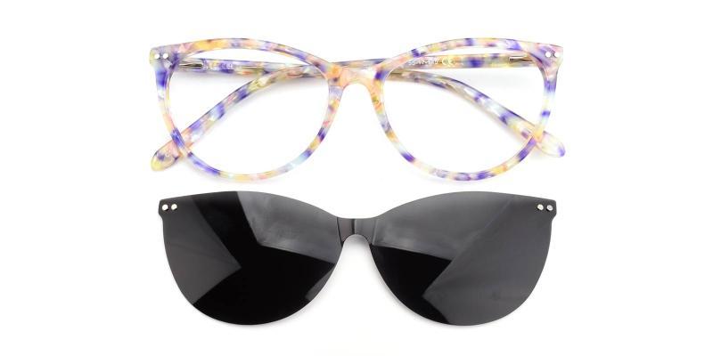 Shell-Blue-Eyeglasses