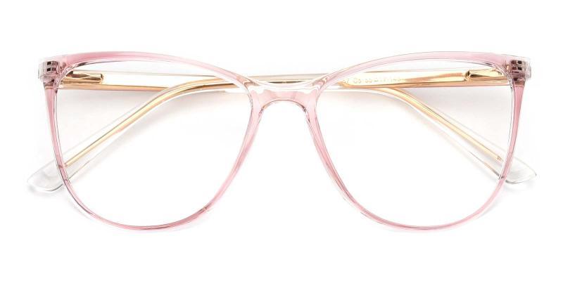 Lena-Pink-Eyeglasses
