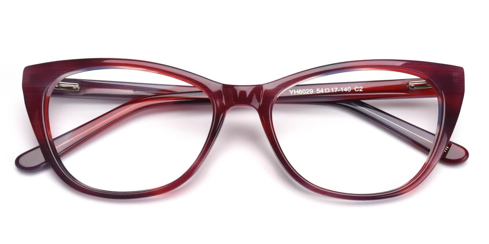 Chigo-Purple-Cat-Acetate-Eyeglasses-detail