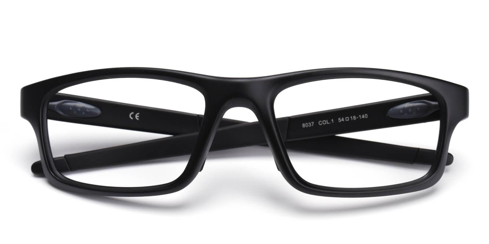 Spider-Black-Rectangle-TR-SportsGlasses-detail