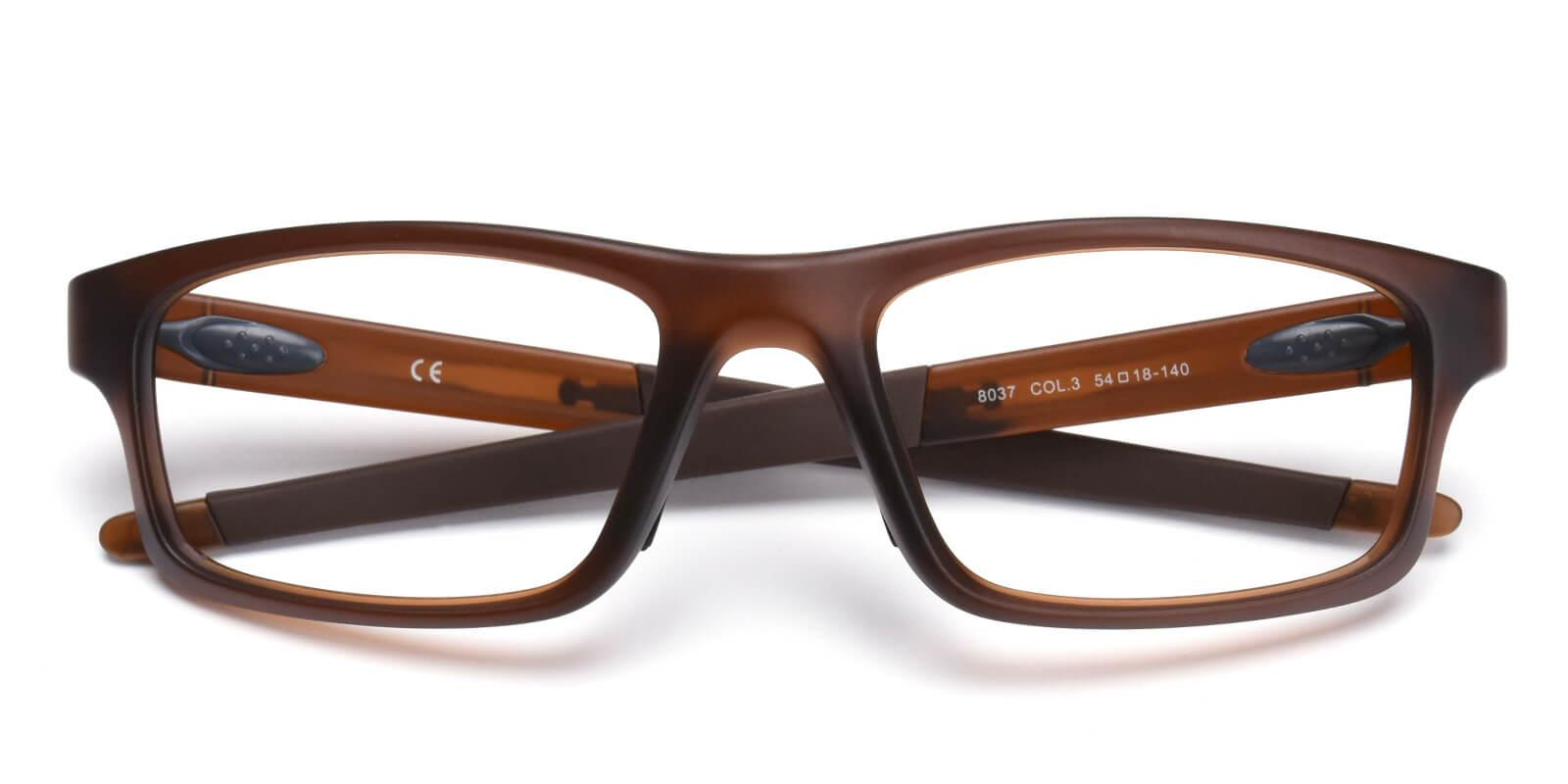Spider-Brown-Rectangle-TR-SportsGlasses-detail