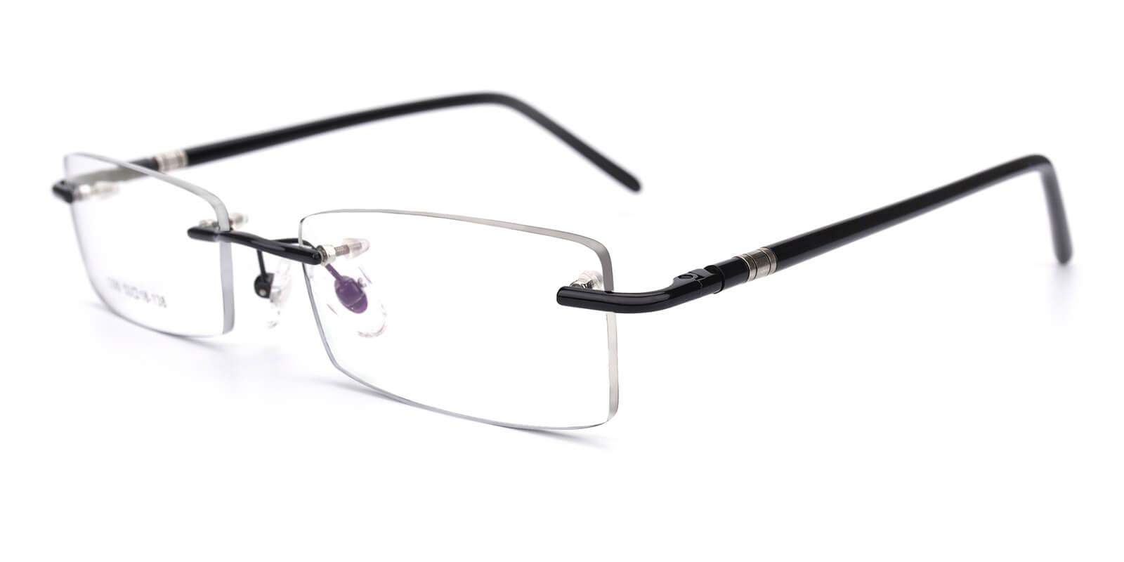 Arrown-Black-Rectangle-TR-Eyeglasses-detail